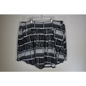 Cato women's skirt plus size 26W 28W a line flare